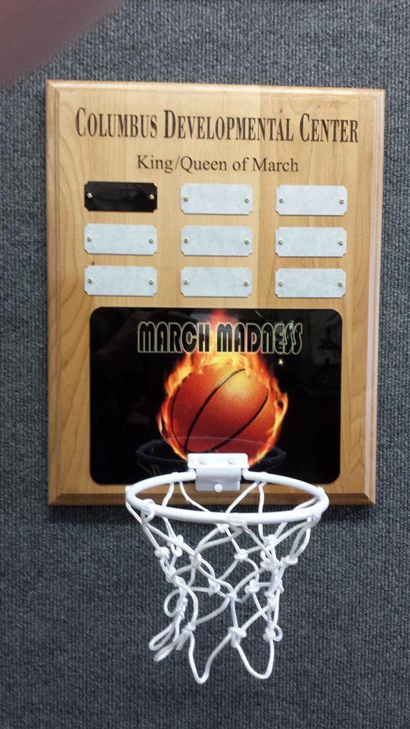 Custom Basketball Plaque