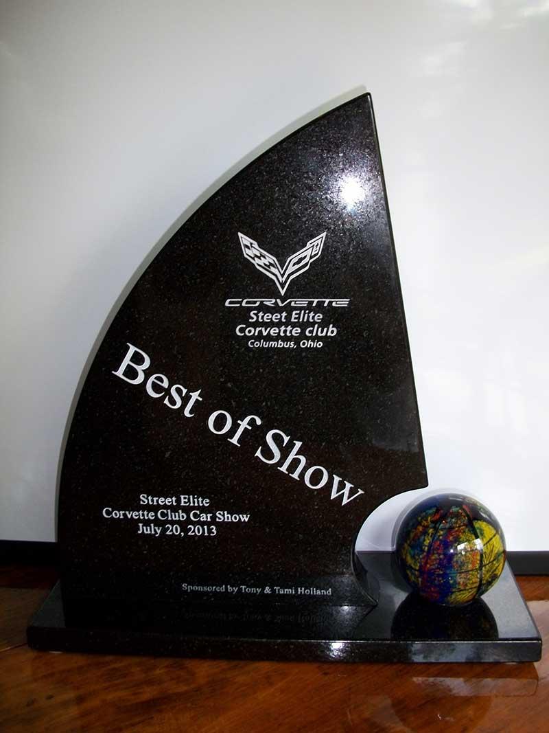 Custom Corvette Club Award