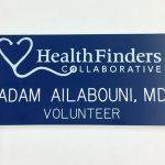 Healthfinders Printed and Engraved