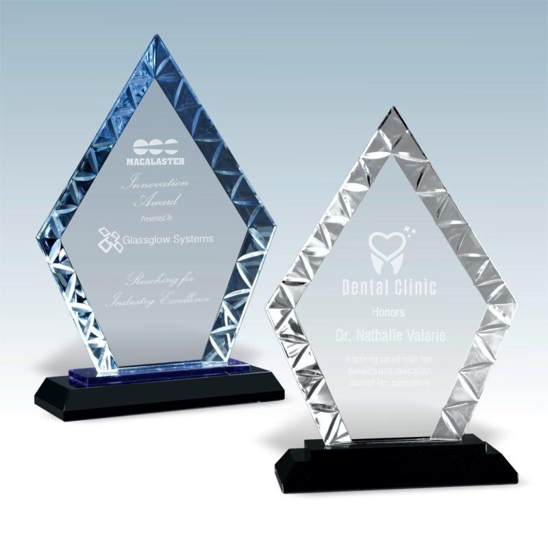 Diamond Accent Glass Award - HEADER