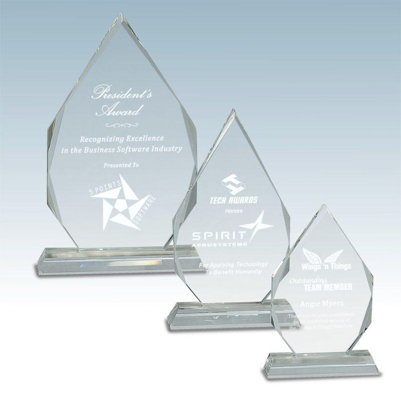 Diamond Facet Crystal Award - HEADER