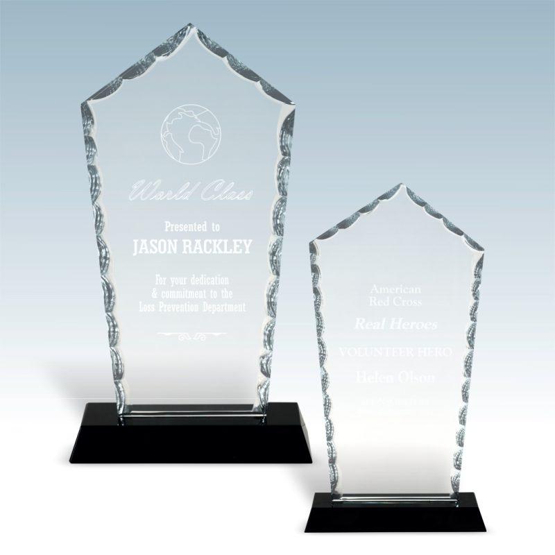 Diamond Facet Glass Award - HEADER