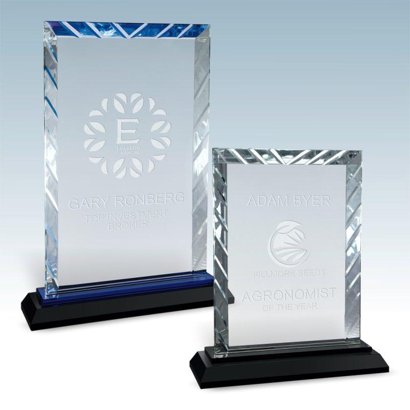 Ractangle Accent Glass Award - HEADER