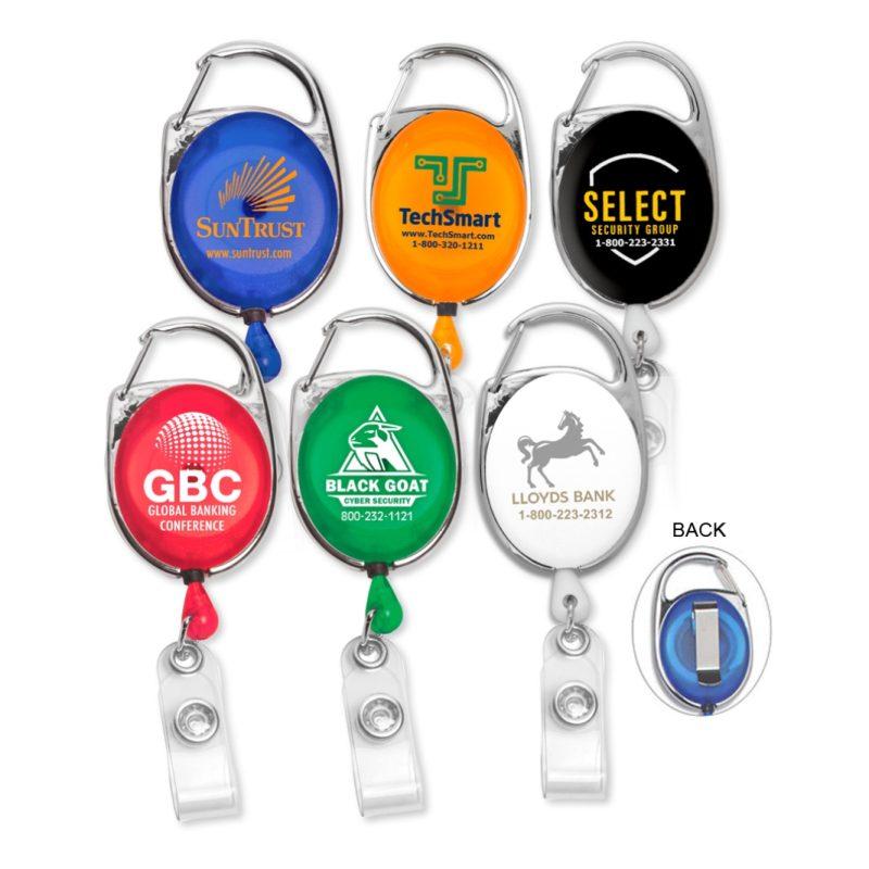 Carabiner Custom Badge Reels