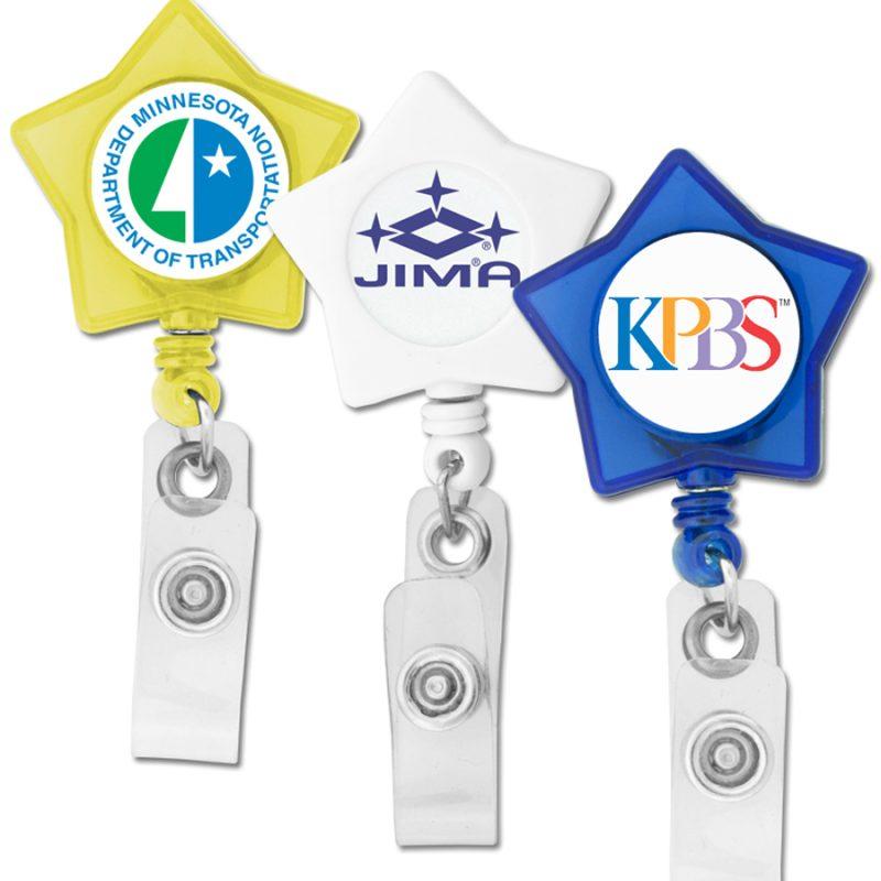 Star Custom Badge Reel