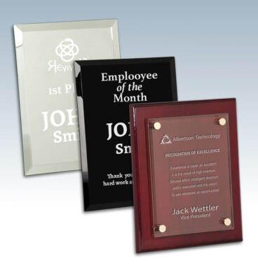 Glass Plaque Awards