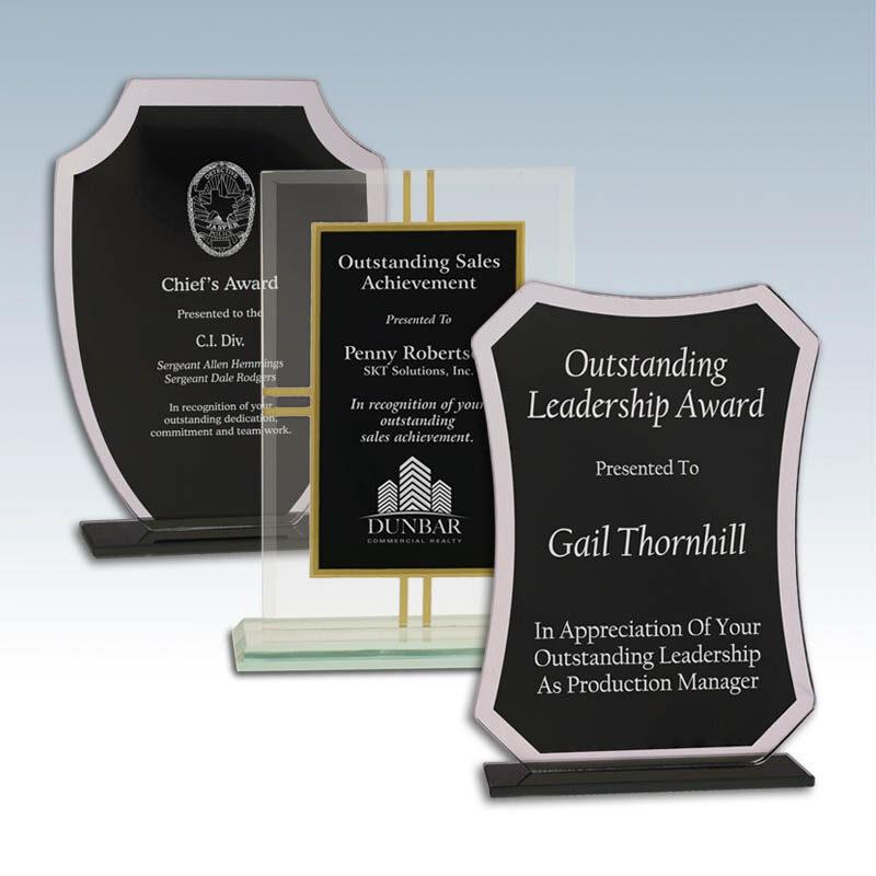 Screened Back Glass Awards