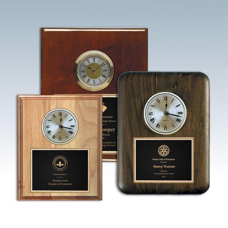 Clock Plaques & Accessories