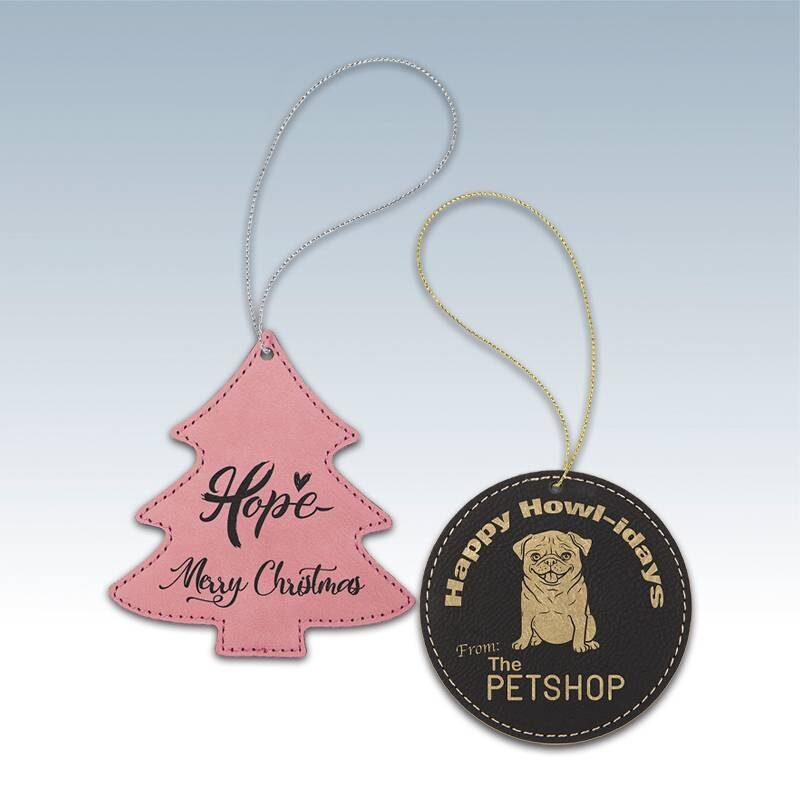 Leatherette Ornaments